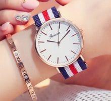 ⌚️ Luxury Brand Nylon Strap Watches 2018 Women Fashion Casual Quartz Watch Ladies Dress Watch Men Outdoor Sports Wristwatch Relogio