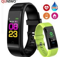 ⌚️ New Smart Wrist Band Bracelet Fitness Heart Rate Blood Pressure Pedometer Sports Wristband Smart Watch Men Women For IOS Android