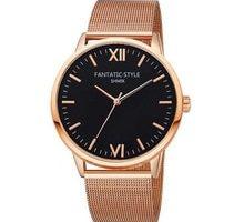 ⌚️ New Women Dress Watch Luxury Brand Ladies Quartz Watches Stainless Steel Mesh Band Casual FANTATIC STYLE Wristwatch reloj mujer