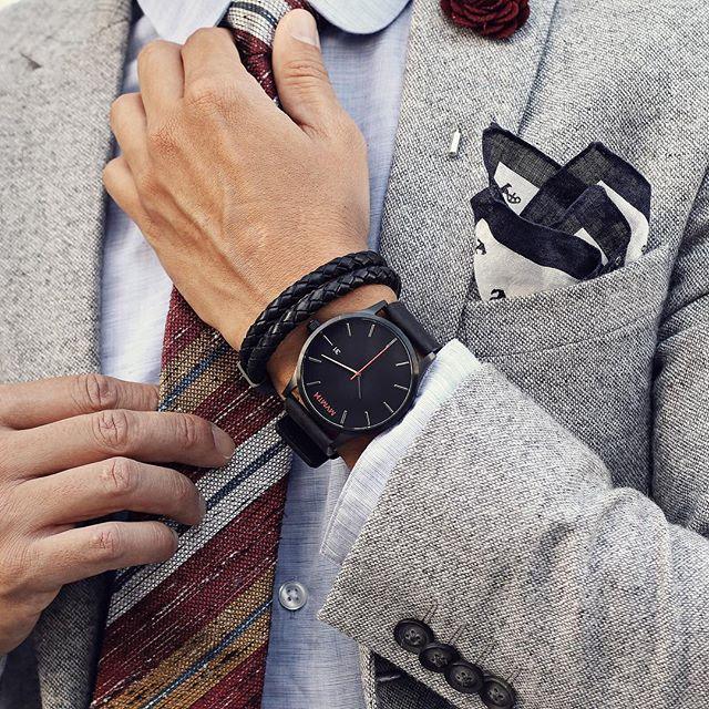 reloj blanco hombre moda