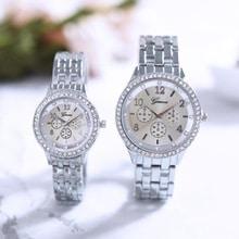 ⌚️ 2018 Women Metal Strap Wristwatch Bracelet Quartz watch Woman Ladies Watches Clock Female Couple Fashion Stainless Steel New Q40