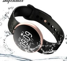 ⌚️ Band Women Fashion Smart Watch for IOS Android with Fitness Sleep Monitoring Waterproof Remote Camera GPS Auto Wake Screen 2018