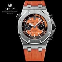 ⌚️ DIDUN Mens Watches Top Brand Luxury Watch men Sports Diver Watches Military Quartz WristWatch Water Resistant Clock Men