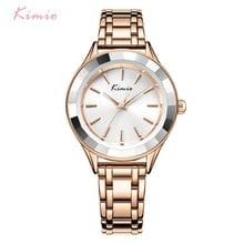 ⌚️ KIMIO Brand Women Rose Gold Bracelet Watch Ladies Quartz Watches Casual Luxury Dress Wristwatch relogio feminino reloj mujer