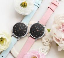 ⌚️ Lvpai Brand Luxury Women Bracelet Watch Fashion Rose Gold Flower Leather Simple Women Dress Watch Business Gift Clock Watch #S