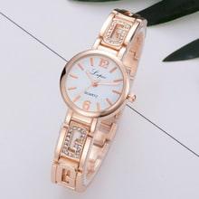 ⌚️ Lvpai  Luxury Rose Gold Watch Women Female Quartz WristWatches Dress Watch Brand Watches Women Fashion Bracelet Gift Clock #S