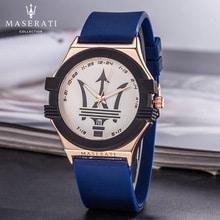 ⌚️ Maserati Quartz Wristwatches Mens Top Brand Luxury Business Quartz Watch Clock Men Waterproof Wristwatch Masculino 57656412