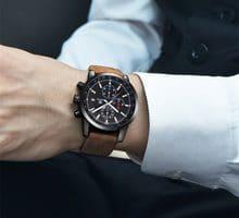 ⌚️ Men's watch BENYAR Top brand Quartz clock Fashion Chronograph Sport Reloj Hombre Clock Male hour relogio Masculino Chronograph