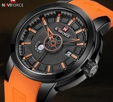 ⌚️ NAVIFORCE 2018 New Arrival Men Quartz Watch Silicone Fashion Watches Waterproof Shockproof Man Sport Wristwatch Relogio Masculio