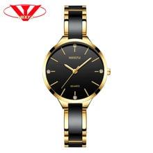 ⌚️ NIBOSI Relogio Feminino Women Watches Top Brand Luxury Watches Diamond Fashion Ladies Watches Simple Ceramic Female Quartz Watch
