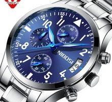 ⌚️ Nibosi Mens Watches Top Brand Luxury Waterproof Military Sport Quartz Watch Men Wrist Watch Relogio Masculino Horloges Mannen
