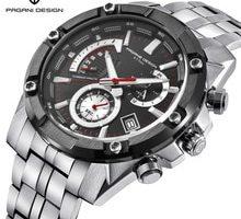 ⌚️ PAGANI DESIGN Luxury Brand Men's Chronograph Business Quartz Watch Stainless Steel Waterproof Sports Men Watch Saat dropshipping