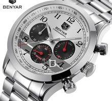 ⌚️ Relojes 2018 BENYAR Watch Men Fashion Sport Quartz Mens Watches Top Brand Luxury Business Waterproof Watch Relogio Masculino