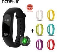 ⌚️ Smart Band Fitness Tracker Bracelet M2 Band Strap Heart Rate Watch Men Women Blood Pressure Pedometer Bluetooth Smart Wristband