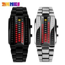 ⌚️ Stainless Steel Band Digital Waterproof Quartz Watch Fashion Casual Lover Digital Sport Wristwatches 1013