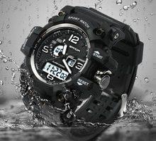 ⌚️ Top Brand Men's SANDA Style G Shock Digital Sports Watch Electronic Watches D 'Waterproof Men's Watch Men's Wrist Watch LED Lumi