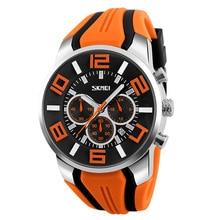 ⌚️ Unisex orange quartz wristwatch men women relogio masculino sport watches adjustable silicone waterproof fashion dropship clock
