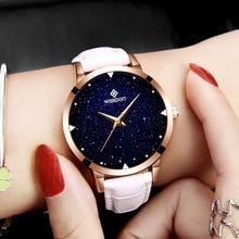 ⌚️ WISHODIT 2018 women watches Fashion dress ladies Watch women Leather Quartz Wrist Watch Relogio feminino girl Clock Montre Femme