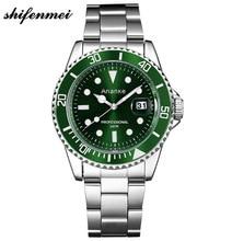 ⌚️ Watch Male Ro Style Rotating Bezel Casual Business Stainless Steel Waterproof Luminous Wrist Watch mens watches top brand luxury