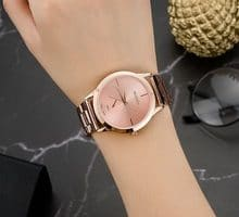 ⌚️ Watches Women 2018 New Design Fashion Brand Women's Watches Pink Gold Silver Color With Watch boxes for free gift