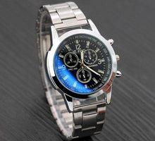 ⌚️ Watches Wristwatch Stainless Steel Sport Quartz Hour Wrist Analog Men Watch Fashion Luxury Steel Classics Vintage Stainless F80