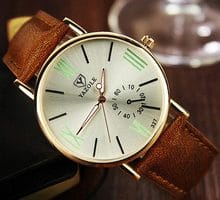 ⌚️ YAZOLE Business Watch Men Famous Brand Top Quartz Wristwatches New Wrist Watches For Man Clock Male Hours Hodinky Men Reloges