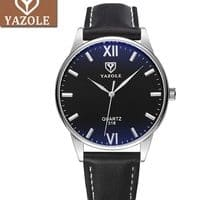 ⌚️ YAZOLE Business Watch Men Top Luxury Brand Famous Style Quartz Wristwatches New Wrist Watches For Man Clock Male Hours Hodinky