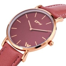 ⌚️ daily women thin quartz wristwatch simple design for lady watches japan movement good quality accurate time fashion watch