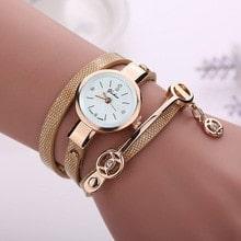 ⌚️ iMucci Women Metal Strap Watch Leather Quartz Wrist Watches Bracelet watch Elegent Gifts